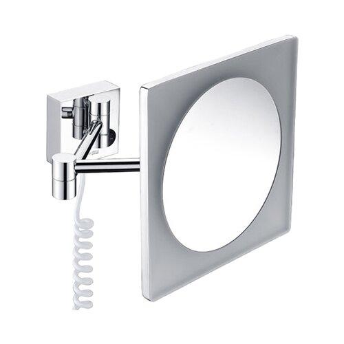 Зеркало косметическое настенное WasserKRAFT K-1008 с подсветкой хром