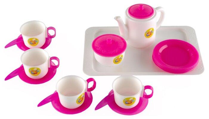 Набор посуды Пластмастер Чайный 21001