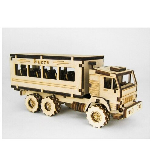 Сборная модель - грузовик ВАХТА СДМ-47К
