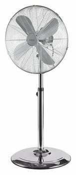 Напольный вентилятор AEG VL 5527 MS Inox, серебристый