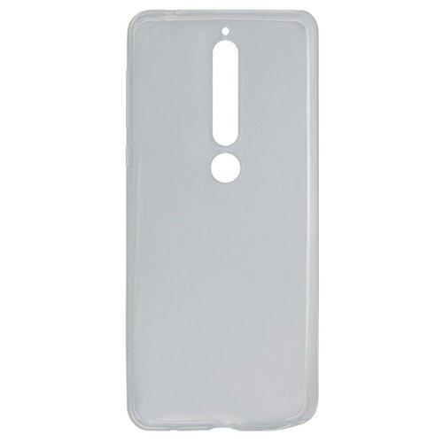 Чехол Akami для Nokia 6.1 2018 (прозрачный силикон) бесцветный