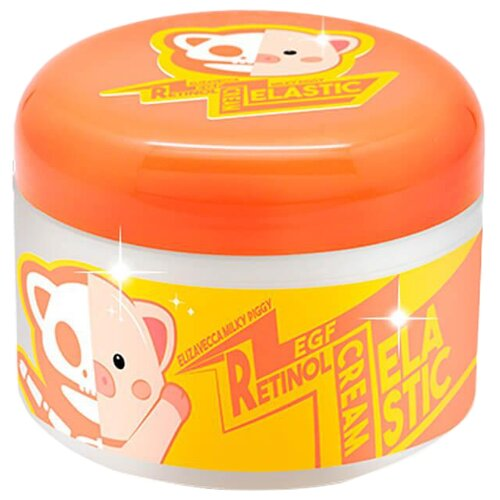 Elizavecca Milky Piggy EGF Elastic Retinol Cream Крем для лица, 100 мл осветляющий крем с эффектом пилинга elizavecca milky piggy real whitening time secret peeling cream