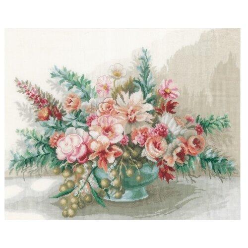 Купить Lanarte Набор для вышивания Букет цветов 45 x 37 см (0169794-PN), Наборы для вышивания