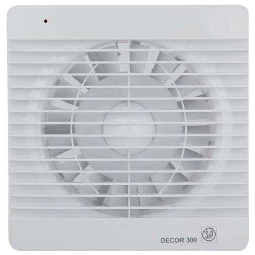 Вытяжной вентилятор Soler & Palau DECOR 300 C, белый 23 Вт вытяжной вентилятор soler