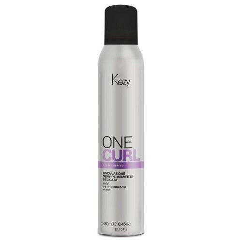 KEZY Спрей One Curl для однофазной завивки Mild Semi Permanent Wave, 250 мл