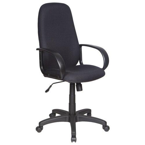 Компьютерное кресло Бюрократ CH-808AXSN, обивка: текстиль, цвет: черный 10-11 кресло руководителя бюрократ ch 808axsn на колесиках ткань темно серый [ch 808axsn g]