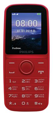 Телефон Philips Xenium E109 фото 1