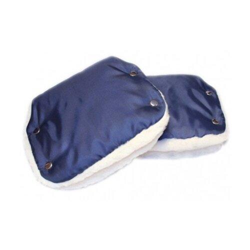 Купить Еду-еду Муфта для рук раздельная темно-синий, Аксессуары для колясок и автокресел