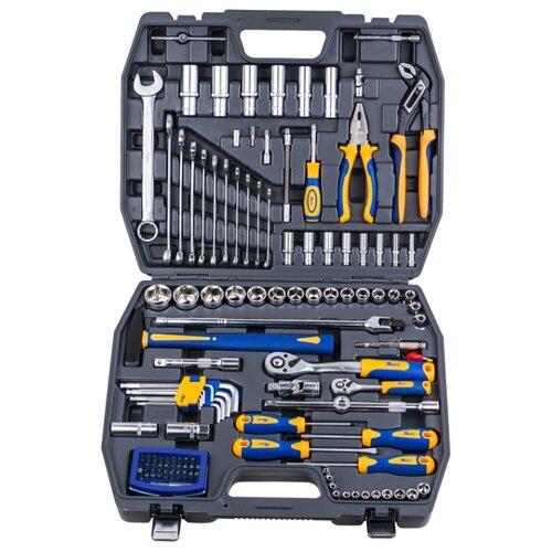Набор инструментов KRAFT (120 предм.) KT 700679 набор инструментов kraft professional с сумкой 23 предметов