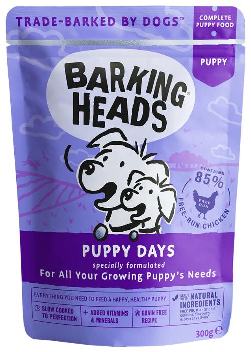 Корм для собак Barking Heads Puppy Days паучи
