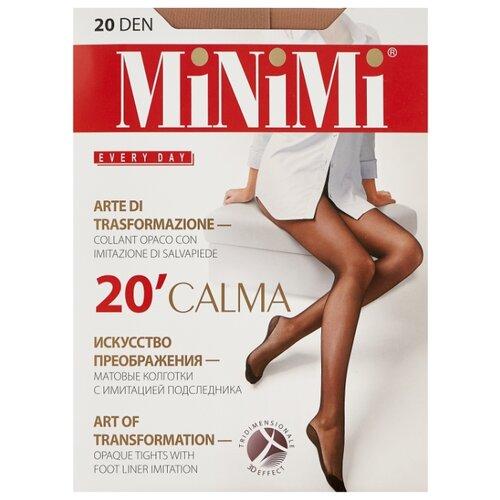 Колготки MiNiMi Calma, 20 den, размер 5-XL, caramello (бежевый) колготки minimi calma 20 den размер 5 xl nero черный