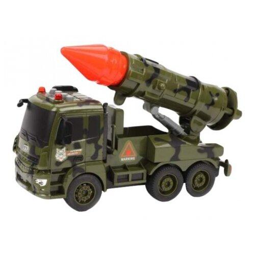 Купить Машина инерционная Военная 1:16, свет, звук, электронная пит.ААА*2шт.не вх.в комплект, Наша ИгрушкаS858-002A, Наша игрушка, Машинки и техника