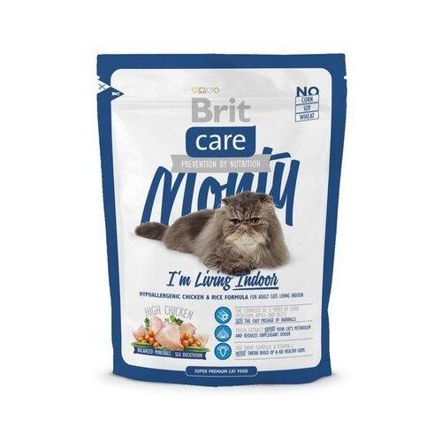 Корм для кошек Brit Care Monty Im Living Indoor (0.4 кг)Корма для кошек<br>