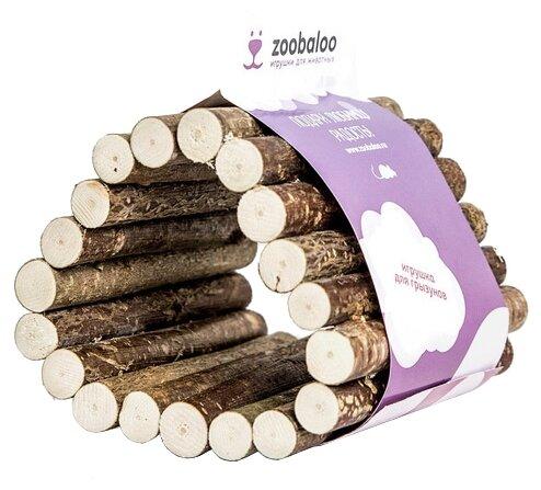 Игрушка для грызунов Zoobaloo Тоннель Треугольник малый 10х10см
