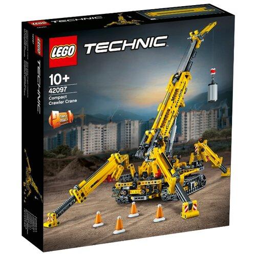 Купить Конструктор LEGO Technic 42097 Компактный гусеничный кран, Конструкторы