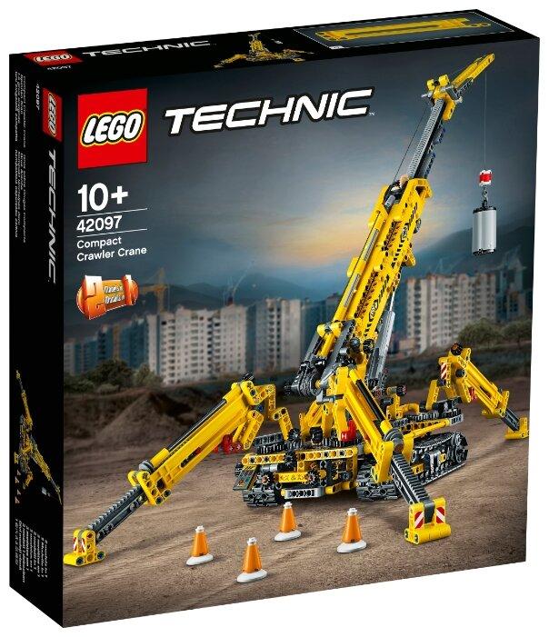Конструктор LEGO Technic 42097 Компактный гусеничный кран