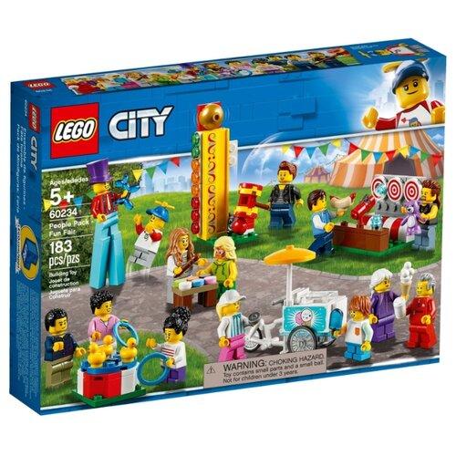 Конструктор LEGO City 60234 Веселая ярмарка конструктор city lego lego mp002xb00c9t
