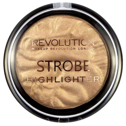 REVOLUTION Хайлайтер Strobe Highlighter gold addict хайлайтер makeup revolution ingot highlighter gold 12 гр