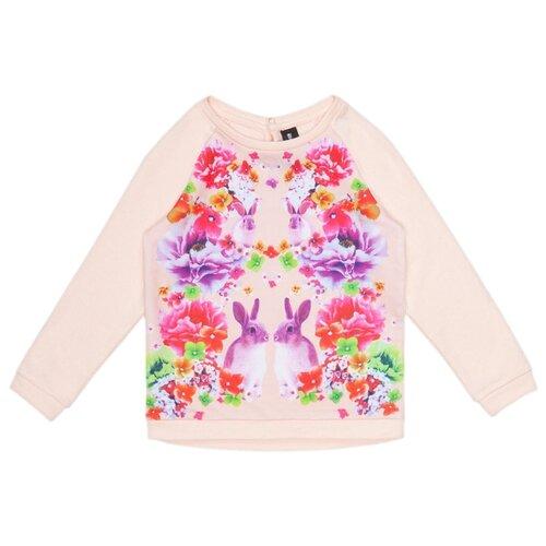 Фото - Свитшот Acoola размер 104, светло-розовый джемпер для девочки acoola pansy цвет светло розовый 20220310076 3400 размер 128