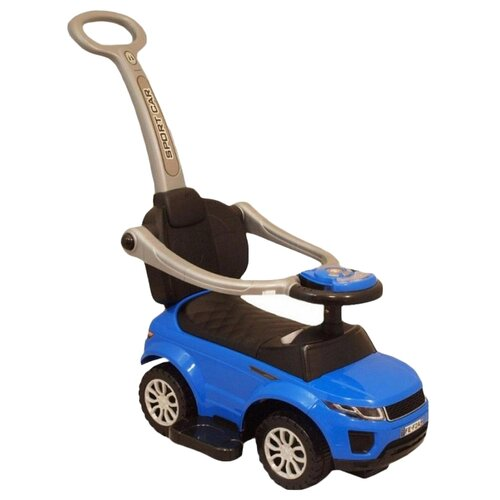 Купить Каталка-толокар Barty Sport Car (S01) синий, Каталки и качалки