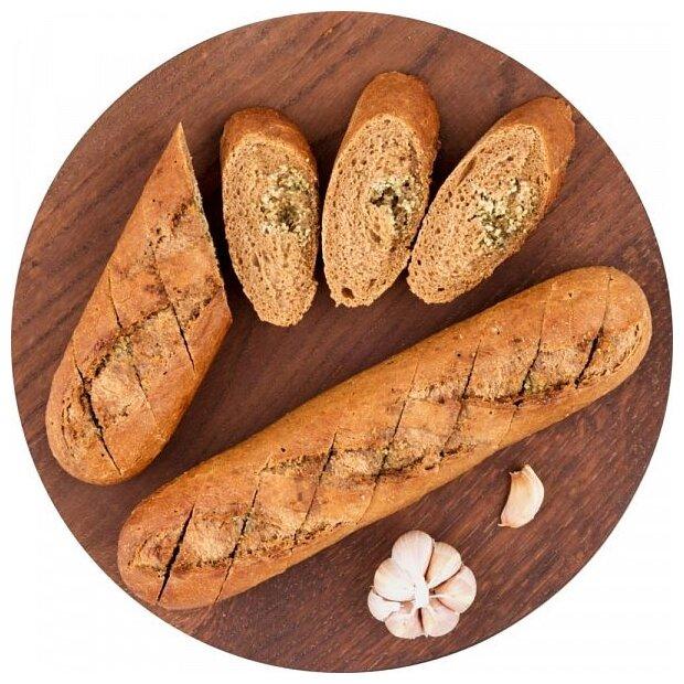 Globus Багет ржаной с чесноком пшенично-ржаный