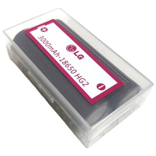 Купить Аккумулятор Li-Ion 3000 мА·ч LG 18650 HG2 2 шт технологическая упаковка