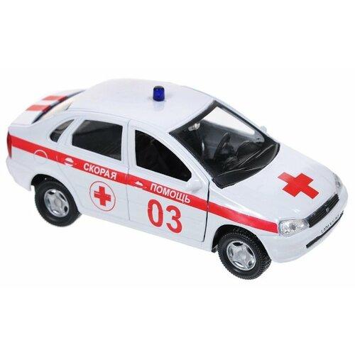 цена на Легковой автомобиль Autotime (Autogrand) Lada Kalina скорая помощь (11495) 1:34 белый/красный