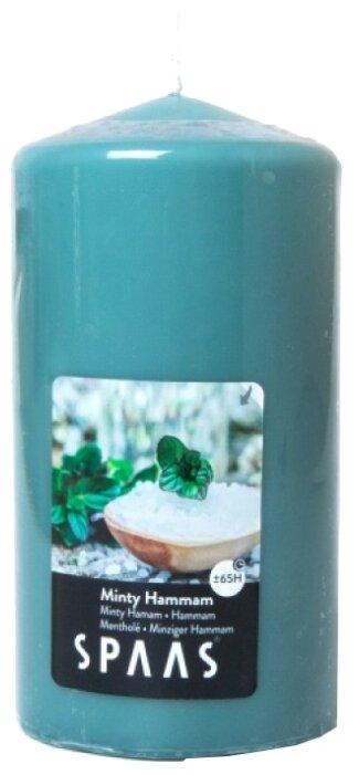 Свеча Spaas Minty Hammam арома столбик — купить по выгодной цене на Яндекс.Маркете
