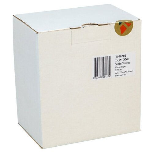 Фото - Бумага Lomond A6 Premium Photo Paper 1106202 270 г/м² 500 лист., белый бумага lomond a6 0102082 230 г м2 500 лист
