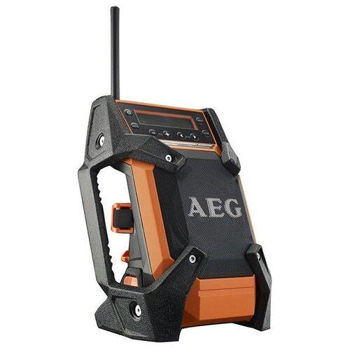 Радиоприемник AEG BR 1218C оранжевый/черный радио aeg br 18c 0