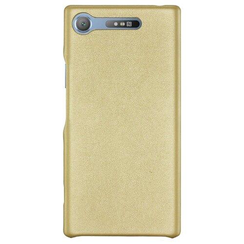 Купить Чехол G-Case Slim Premium для Sony Xperia XZ1 золотой