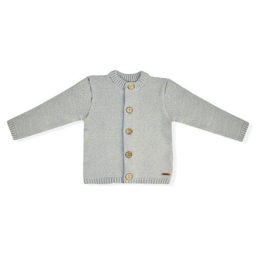 Кардиган LEO размер 98, серый