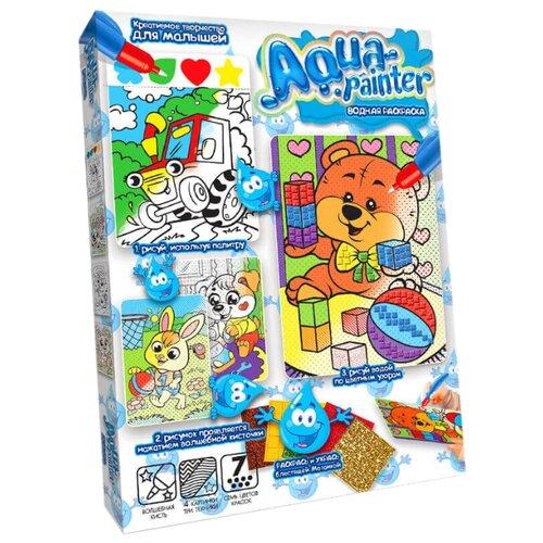 Купить Danko Toys Набор для творчества Aqua painter. Медвежонок, Раскраски