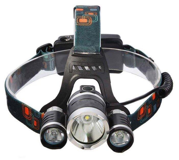 Налобный фонарь Boruit HL-720 черный