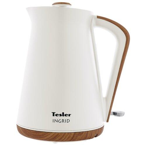 Фото - Чайник Tesler INGRID KT-1740, white чайник tesler kt 1755 red