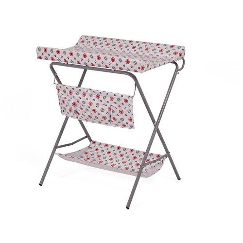 Пеленальный столик Polini складной болты красныйПеленальные столики и доски<br>