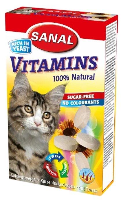 Добавка в корм SANAL Vitamins для кошек