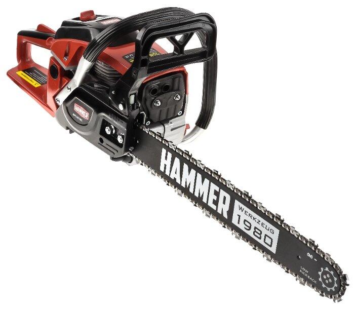 Бензиновая пила Hammer BPL5518C 2200 Вт/3 л.с — купить по выгодной цене на Яндекс.Маркете