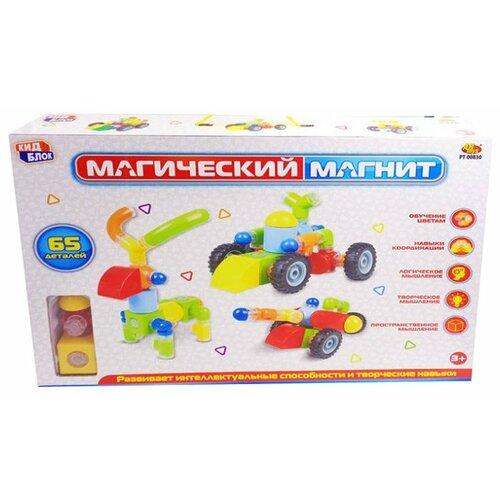 Магнитный конструктор ABtoys Магический магнит PT-00830 магнитный конструктор abtoys магический магнит с магнитом внутри 32 детали pt 00863