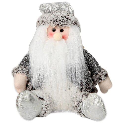 Мягкая игрушка Зимнее волшебство Дед Мороз с бубенчиком 24 см