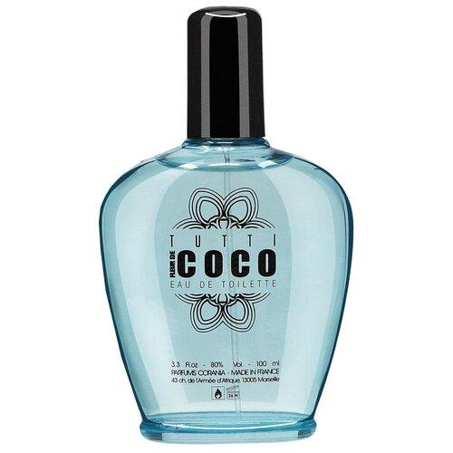 Туалетная вода Parfums Corania Tutti Fleur de Coco, 100 мл недорого