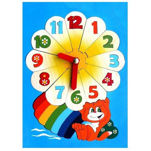 Рамка-вкладыш Крона Часики (143-042), 38 дет. рамка вкладыш крона азбука в картинках 143 073 50 дет