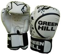 Боксерские перчатки Green hill Star (BGS-2219) белый 12 oz