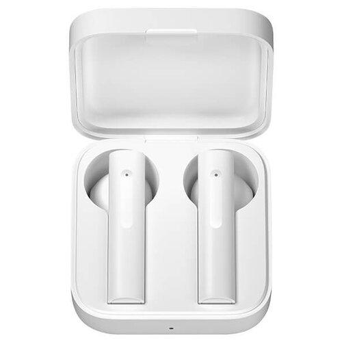 Фото - Беспроводные наушники Xiaomi Mi True Wireless Earphones 2 Basic, белый беспроводные наушники xiaomi airdots pro mi true wireless earphones белый
