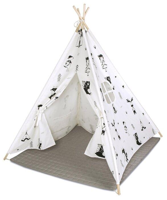 Палатка Hakuna Matte Вигвам Little Explorers с ковриком