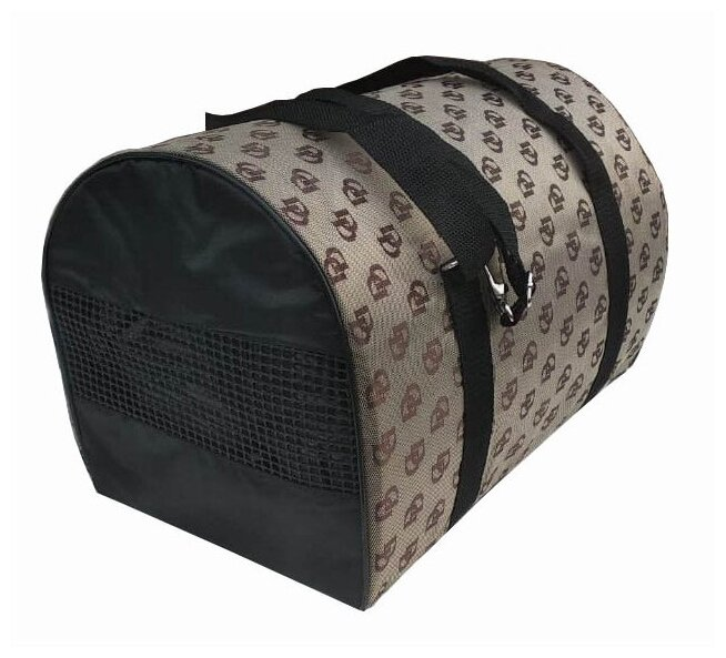 Переноска-сумка для собак Теремок СП-2 40х23х23 см серый
