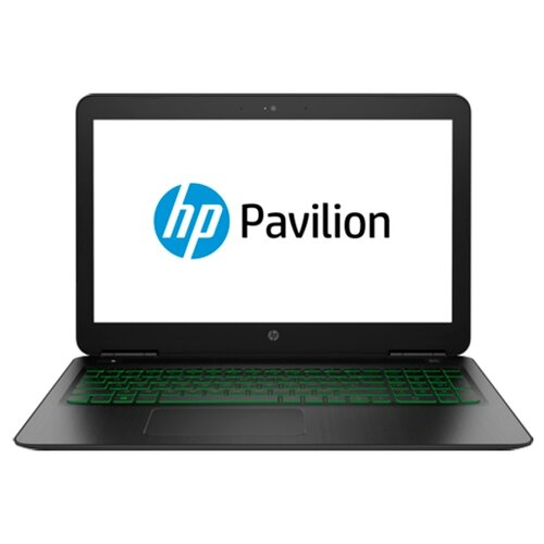 Ноутбук HP PAVILION 15-dp0093ur (Intel Core i5 8300H 2300 MHz/15.6/1920x1080/8GB/1128GB HDD+SSD/DVD нет/NVIDIA GeForce GTX 1060/Wi-Fi/Bluetooth/DOS) 5AS62EA темно-серый/зеленый хромированный логотип ноутбук hp omen 15 ce015ur intel core i7 7700hq 2800 mhz 15 6 1920x1080 12gb 1128gb hdd ssd dvd нет nvidia geforce gtx 1060 wi fi bluetooth windows 10 home