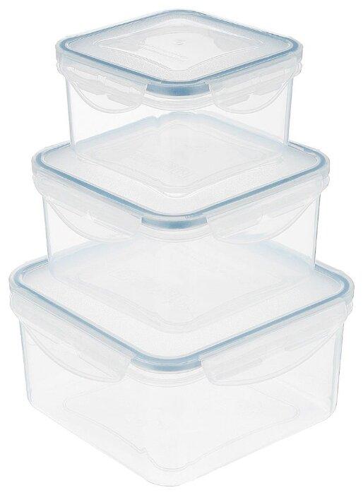 Tescoma Набор контейнеров квадратных Freshbox 892042