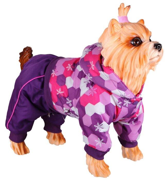 Комбинезон для собак DEZZIE 56355 девочка, 30 см