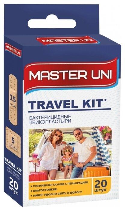 Master Uni Travel Kit лейкопластырь бактерицидный, 20 шт.
